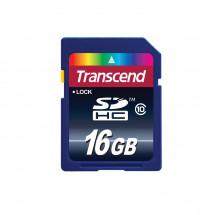 Карта памяти Transcend SDHC 16GB Class 10 (TS16GSDHC10)