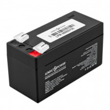 Аккумулятор LogicPower LPM 12V 1,3A (LPM 12-1.3 AH)