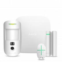 Комплект охранной сигнализации Ajax StarterKit Cam White