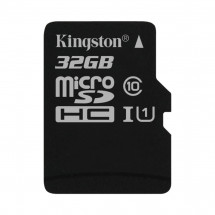 Карта памяти Kingston MicroSDHC/MicroSDXC 32GB Canvas Select Class 10 UHS-I (SDCS/32GBSP)